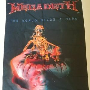 Megadeath Metal Vintage Tapestry Flag Wall Hanging